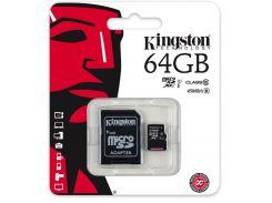 Карта пам'яті Kingston Micro SDXC UHS-I 64 ГБ (SDC10G2/64GB)