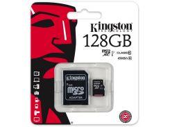 Карта пам'яті Kingston Micro SDXC 128 ГБ (SDC10G2/128GB)