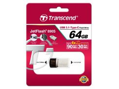 Флешка USB Transcend JetFlash 890 64 ГБ (TS64GJF890S)
