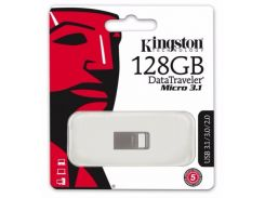 Флешка USB Kingston DT 128 ГБ (DTMC3/128GB)