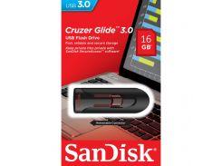 Флешка USB SanDisk Cruzer Glide 16 ГБ (SDCZ600-016G-G35)