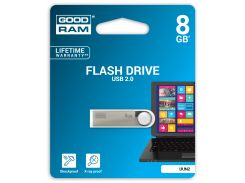 Флешка USB GOODRAM Unity 8 ГБ (UUN2-0080S0R11) Silver