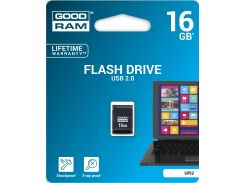 Флешка USB GOODRAM Piccolo 16 ГБ (UPI2-0160K0R11) Black