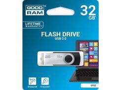 Флешка USB GOODRAM Twister 32 ГБ (UTS2-0320K0R11) Black/Silver