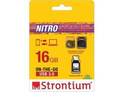 Флешка USB Strontium Nitro 16 ГБ (SR16GBBOTG2Z)