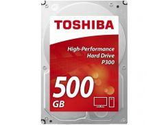 Жорсткий диск Toshiba P300 (HDWD105UZSVA) 500 ГБ