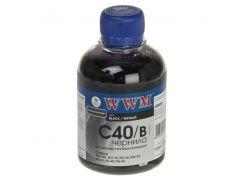 Чорнило WWM C40/B Canon PG-40/50/PGI5Bk/BCI-15 чорне