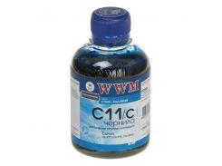 Чорнила WWM CANON CL-511/513/CLI521/CLI426 200 г. Cyan (C11/C)
