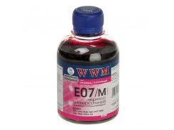 Чорнило WWM E07/M Epson C13T12834011, C13T11234A1 малинове