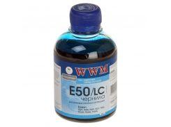 Чорнило WWM E50/LC Epson C13T11154A1, C13T0542401 світло-блакитне