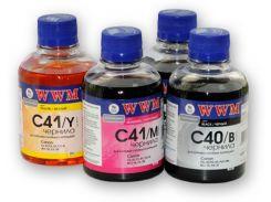 Чорнило WWM C41/C Canon CL-41/51/CLI8/BCI-16 блакитне