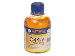 Чорнило WWM C41/Y Canon CL-41/51/CLI8/BCI-16 C41/Y жовте