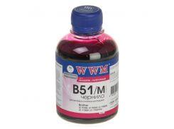 Чорнило WWM B51/M Brother LC-51/LC1000 малинове
