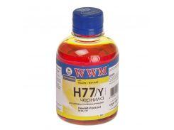 Чорнило WWM H77/Y HP C8719, С8721, С5016 жовте
