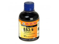 Чорнило WWM E83/B Epson C13T0801401, C13T11114A1 чорне