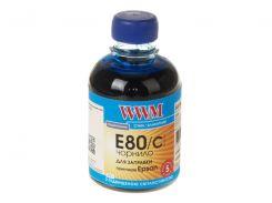 Чорнило WWM E80/C Epson L800 блакитне