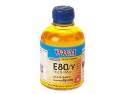 Чорнило WWM E80/Y Epson L800 жовте