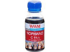 Чорнило WWM C11/C-2 Canon CL-511С/CL-513С/CLI-521C блакитне
