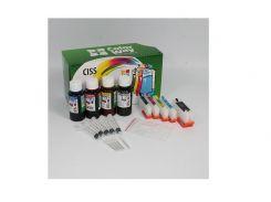 Комплект перезаправних картриджів ColorWay Epson XP600/XP605/XP700/XP800