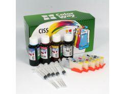 Комплект перезаправних картриджів ColorWay IP7240RC-5.1 Canon IP7240, MG5440