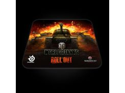 Килимок SteelSeries QcK World of Tanks Edition (67269) чорно-помаранчевий