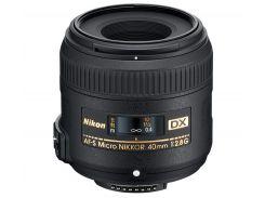 Об'єктив Nikkor AF-S 40mm f/ 2.8G ED DX Micro