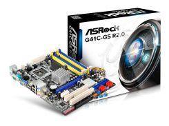 Материнська плата AsRock G41C-GS R2.0