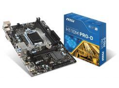 Материнська плата MSI H110M PRO-D