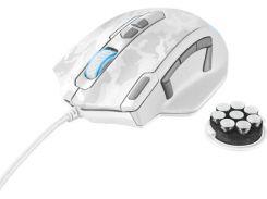 Мишка Trust GXT 155W Gaming White камуфля