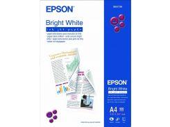 Папір А4 Epson Bright White Ink Jet Paper 500 аркушів (C13S041749)