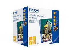 Фотопапір 13х18 Epson Premium Glossy Photo Paper 500 аркушів (C13S042199)