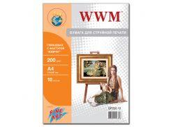 """Фотопапір A4 WWM Fine Art """"Перлина"""" 10 аркушів (GP200.10)"""