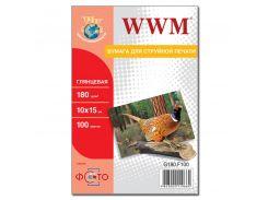 Фотопапір 10х15 WWM 20 аркушів (G180.F20)