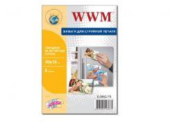 Фотопапір 10х15 WWM 5 аркушів (G.MAG.F5)