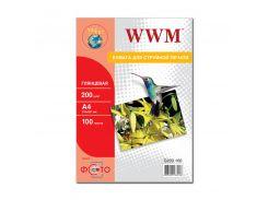 Фотопапір А4 WWM 100 аркушів (G200.100)