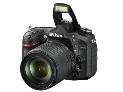 Цифрова фотокамера дзеркальна Nikon D7200 kit 18-105 мм VR