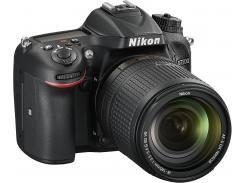 Цифрова фотокамера дзеркальна Nikon D7200 kit 18-140 мм VR