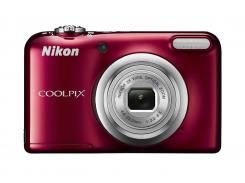 Цифрова фотокамера Nikon Coolpix A10 Red