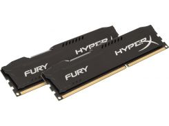 Пам'ять Kingston HyperX Fury Black DDR3 2x8 ГБ (HX316C10FBK2/16)