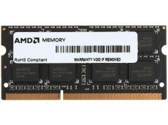 Пам'ять для ноутбука AMD DDR3 1х4 ГБ (R534G1601S1SL-UOBULK)