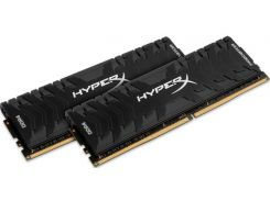 Пам'ять Kingston HyperX Predator Black DDR4 2x8 ГБ (HX432C16PB3K2/16)