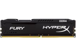 Пам'ять Kingston HyperX Fury Black DDR4 1х8 ГБ (HX424C15FB2/8)