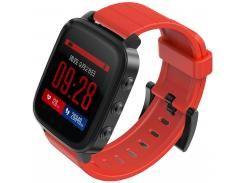 Смарт годинник SMA-Q2 Black/Red