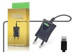 Мережевий зарядний пристрій Gelius для iPhone 5/5s Black