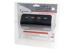 USB-хаб Gembird UHB-CT08 з годиником