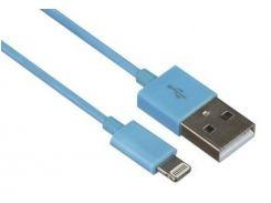 Кабель USB Kit AM / Lightning 1 м Blue