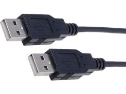 Кабель USB Digitus AM / AM 1,8 м Black