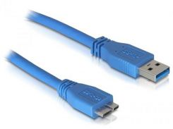 Кабель USB Atcom AM / Micro USB 0,8 м Blue