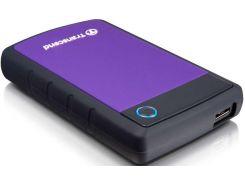 Зовнішній жорсткий диск Transcend StoreJet 25H3P 1ТБ Purple