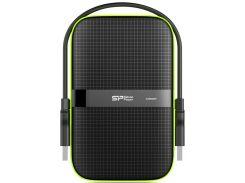 Зовнішній жорсткий диск Silicon Power Armor A60 1ТБ Black